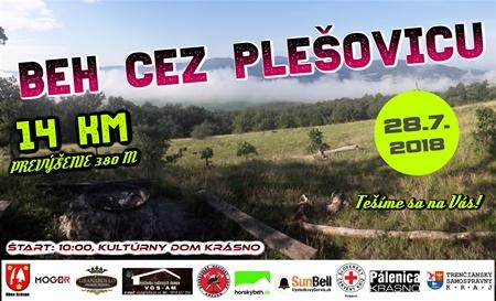 banner Beh cez Plesovicu