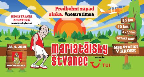 banner Mariatalsky štvanec 2019